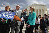 For the second time in as many months Senate Minority Leader Harry Reid joins Sen Debbie Stabenow Sen Elizabeth Warren and other Democrats to call on...