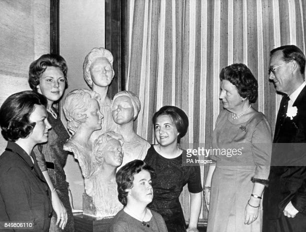 For the Silver Wedding anniversary of Queen Juliana of the Netherlands and Prince Bernhard the four Dutch princesses had prepared for their parents a...