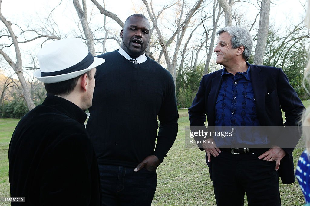 Forbes Editor Randall Lane, Shaquille O'Neal and Forbes Media CEO Mike Perlis attend Forbes' '30 Under 30' SXSW Private Party on March 11, 2013 in Austin, Texas.