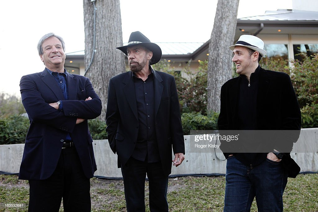 Forbes Media CEO Mike Perlis, John Paul DeJoria, and Forbes Editor Randall Lane attend Forbes' '30 Under 30' SXSW Private Party on March 11, 2013 in Austin, Texas.