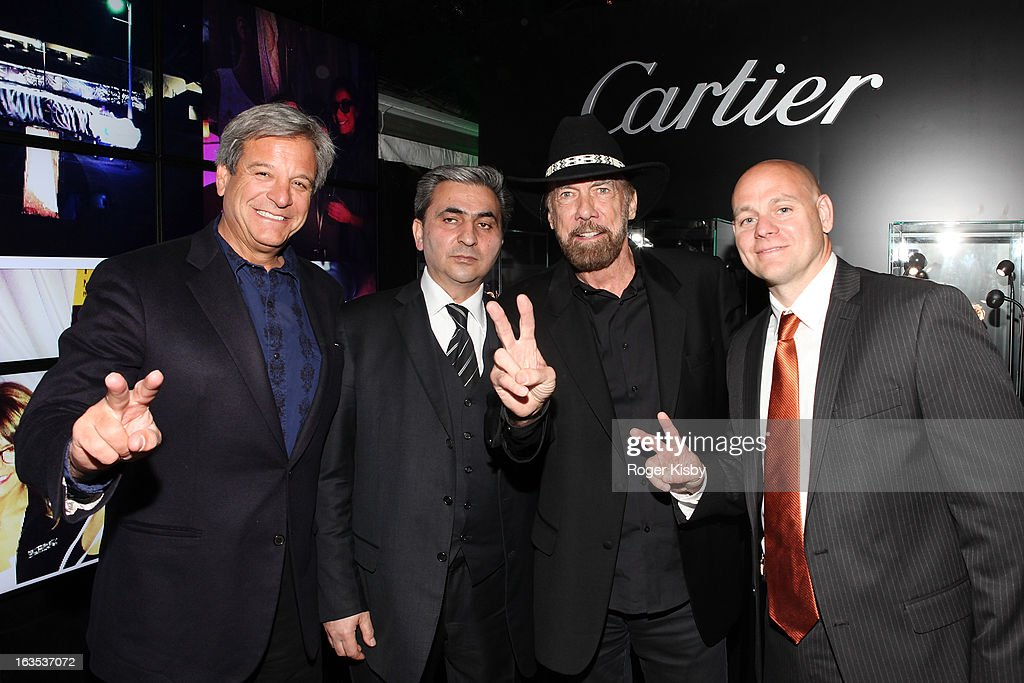 Forbes Media CEO Mike Perlis, Takhir Mamedov, John Paul DeJoria and Joseph Zahn attend Forbes' '30 Under 30' SXSW Private Party on March 11, 2013 in Austin, Texas.