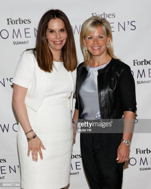 Forbes Media Executive Vice President Moira Forbes and Gretchen Carlson attend the 2017 Forbes Women's Summit at Spring Studios on June 13 2017 in...