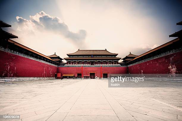Forbidden city entrance