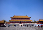 Forbidden City in Beijing China on April 27 2008