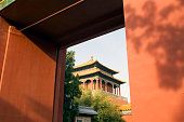 Forbidden City Seen From Zhongshan Park Gate