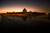 Forbidden City sunrise