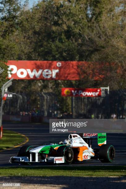 Force India's Adrian Sutil during the Australian Grand Prix at Albert Park Melbourne Australia