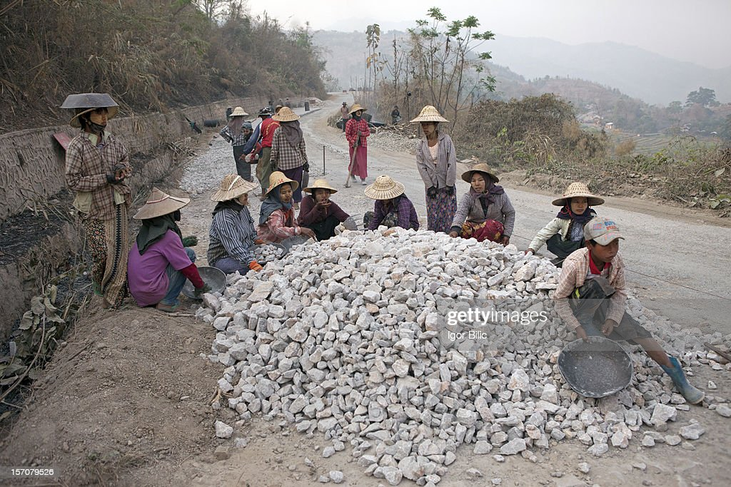 Forced labour is widely performed by women, children and elderly persons as well as persons otherwise unfit for work. Workers are randomly rounded up by local policy or the military from such public places as train stations, movie theatres or from their homes or places of work.