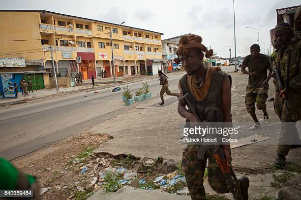 Forces loyal to Alassane Ouattara try to push back the forces loyal to Laurent Gbagbo from the neighbourhoods of Riviera and Cocody They have found a...