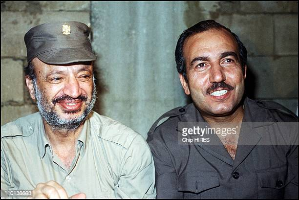 Forces of the Baas Party in Bekaa in Lebanon on May 25th1983