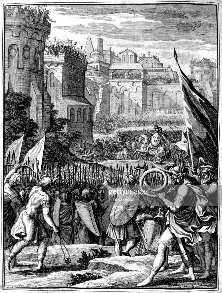 Forces under Alaric I, King of the Visigoths from 395 ...