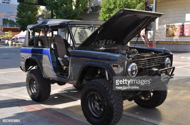 Ford Bronco on display at the Hot August Nights Custom Car Show the largest nostalgic car show in the world on August 11 2017 held at Reno NV