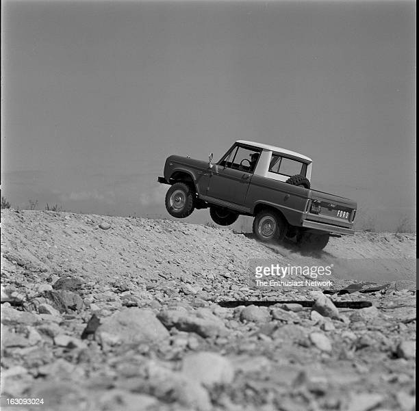 Ford Bronco Pickup Test Ford's Bronco with it's standard 6cylinder engine is quite capable of unseating an unstrapped rider in some what less than...