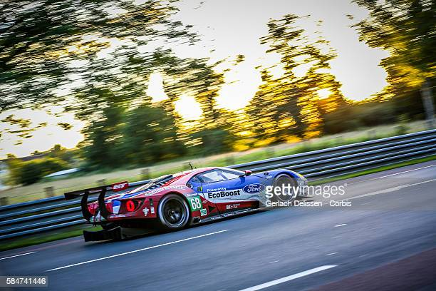 Ford Chip Ganassi Team USA #68 Ford GT with Drivers Joey Hand Dirk Muller and S'''e9bastien Bourdais during the 84th running of the Le Mans 24 Hours...