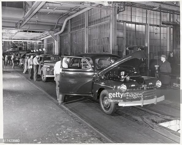 Ford Motor Company Assembly Line Pictures