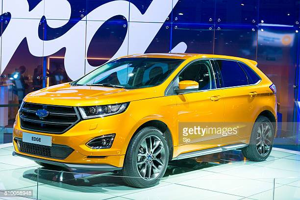 Ford Edge mid-sized crossover SUV front view