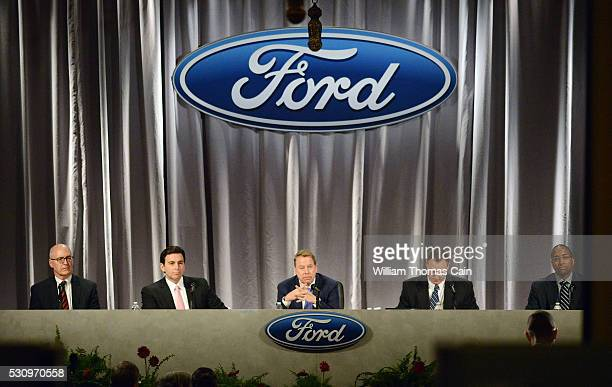 Ford Executive Vice President and CFO Robert L Shanks President and CEO Mark Fields Executive Chairman William Clay Ford Jr Corporate Secretary John...