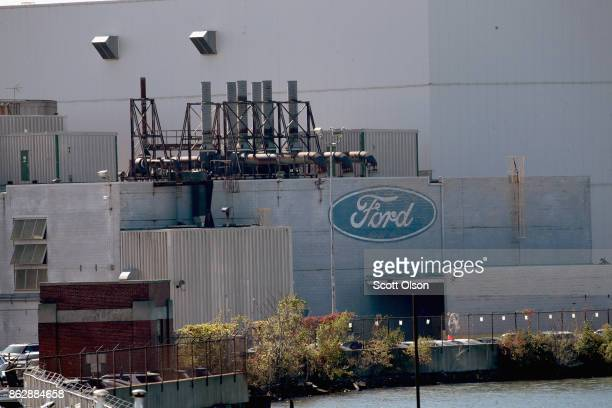 Ford Explorers are built at this Chicago Assembly Plant on October 18 2017 in Chicago Illinois Responding to consumer concerns about exhaust fumes...