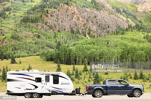 Ford F-150 Truck Lance Travel Trailer Camping