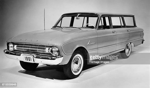 Ford Falcon station wagon Artist Unknown