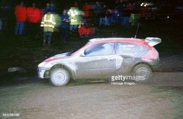 Ford Focus WRC driven by Richard Burns in Network Q rally 2000