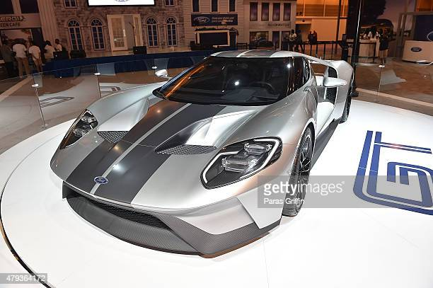 Ford GT on display at the 2015 Essence Music Festival on July 3 2015 in New Orleans Louisiana