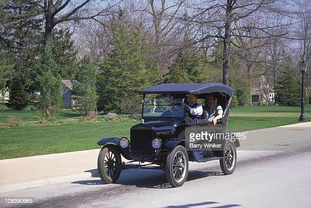 Ford Model T Automobile, Dearborn, Greenfield Village, Detroit, Michigan