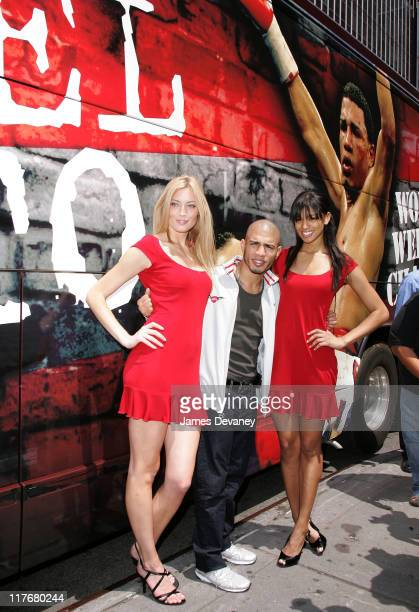 Ford Models Jennifer Ohlsson Miguel Cotto and Tarah Rodgers