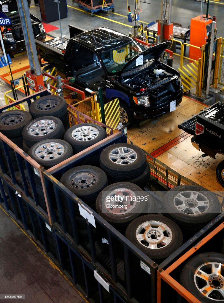 Ford F 150 Truck Plant Tour Getty Images