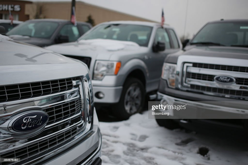 ford motor co f 150 trucks are displayed for sale at the oxmoor ford. Cars Review. Best American Auto & Cars Review