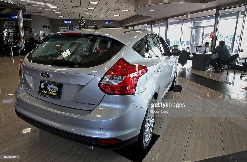 Ford dealership golf mill for Golf mill motor sales