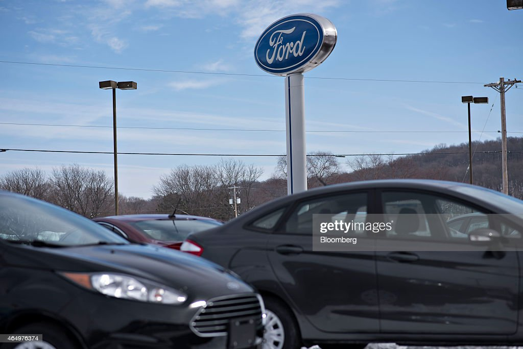 Ford Motor Co Car Dealerships Ahead Of Motor Vehicle