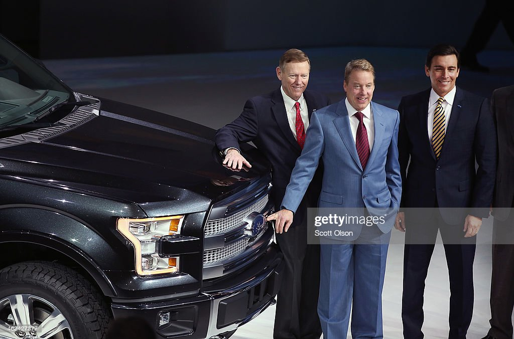 Annual north american auto show held in detroit getty images for Ford motor company leadership
