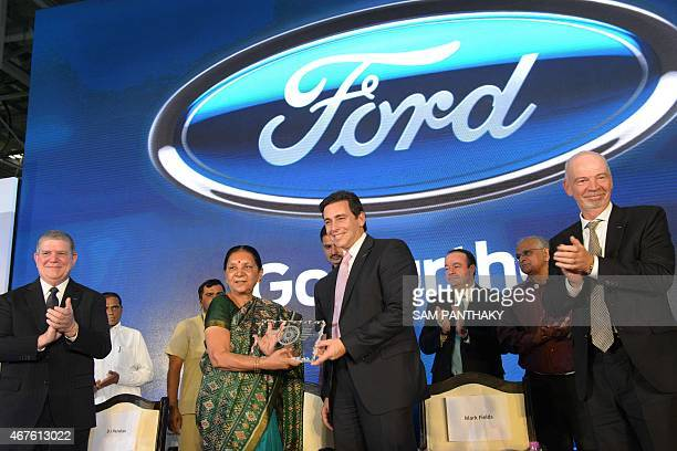 Anandiben patel stock photos and pictures getty images for Ford motor company incentives