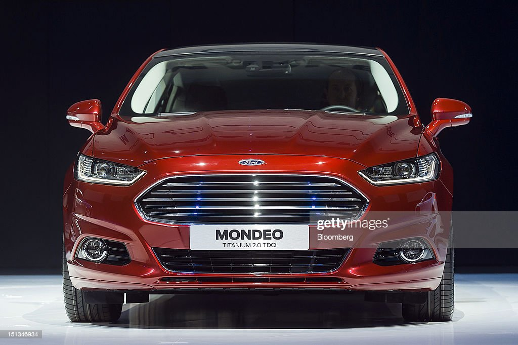 Ford Motor Co Ceo Alan Mullaly Attends Product Launch
