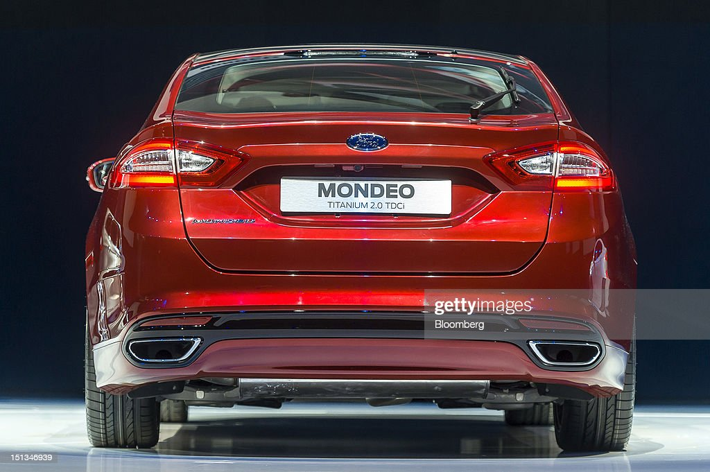 Ford Motor Co 39 S New Mondeo Titanium Automobile Is Displayed During The Company 39 S 39 Go Further