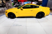 Ford Mustang at the 106th Annual Chicago Auto Show at McCormick Place in Chicago Illinois on FEBRUARY 06 2014