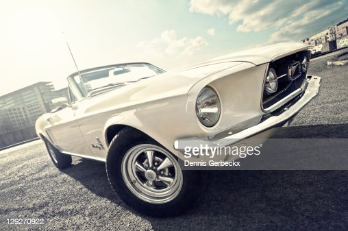 1968 Ford mustang convertible : Photo