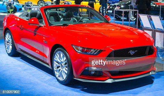 Ford Mustang GT Premium Convertible Muscle Car