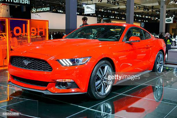 Ford Mustang Muscle Car front view