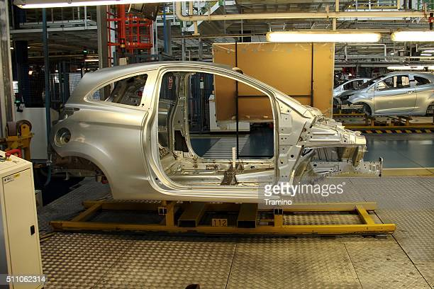 Ford on the production line
