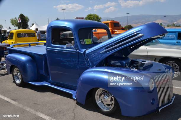 Ford pickup on display at the Hot August Nights Custom Car Show the largest nostalgic car show in the world on August 11 2017 held at Reno NV