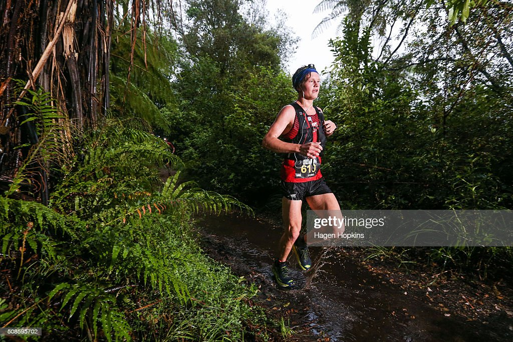 Ford Smith of USA in action during the Tarawera Ultramarathon on February 6, 2016 in Rotorua, New Zealand.