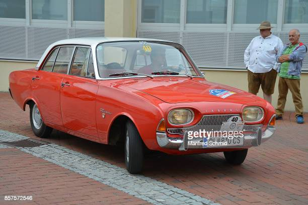 Ford Taunus 12M P4 in the '6th EbreichsdorfClassic' oldtimer rally at Markt Piesting on September 2 2017 in Markt Piesting Austria