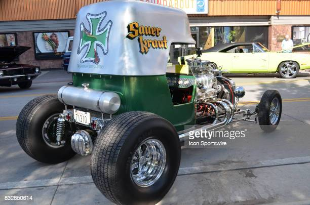 Ford TBucket named 'Sauer Kraut' on display at the Hot August Nights Custom Car Show the largest nostalgic car show in the world on August 11 2017...