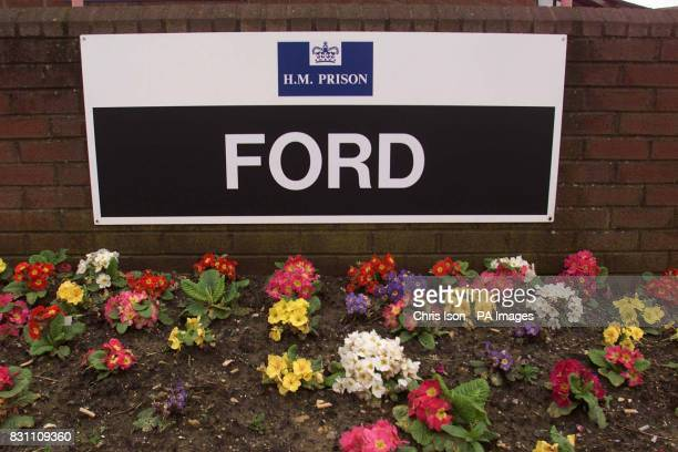 HMP Ford The sign at the entrance to HM Prison Ford near Arundel in West Sussex The Chief Inspector of Prisons will publish his report 10/04/01 on...