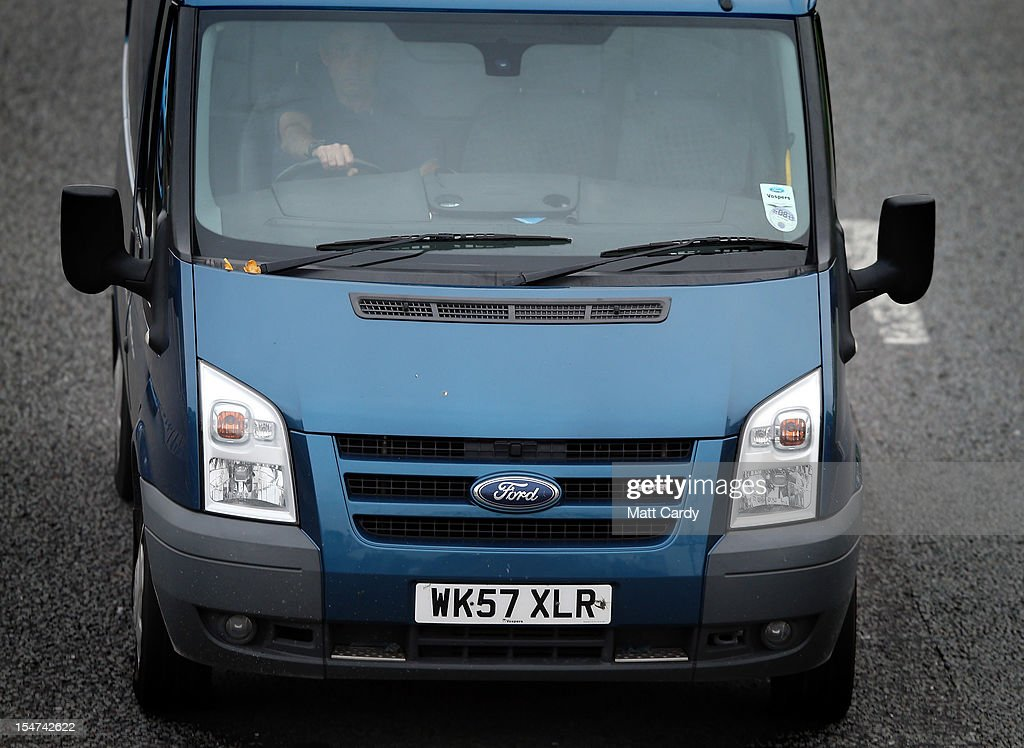 A Ford Transit van drives along the road on October 25, 2012 in Southampton, England. It was announced today that carmaker Ford plans to close two UK plants next year, one in Southampton, which has been making Transit vans since 1972, and one in Dagenham, with the loss of up to 1400 jobs.