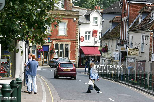Fordingbridge in the New Forest, England