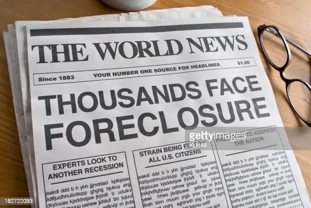 Foreclosure Headline