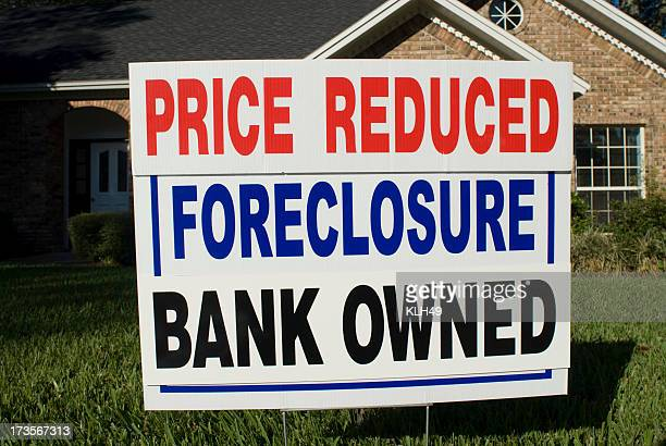 Foreclosure Yard Sign